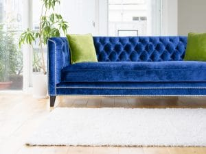 Jewel Toned Sofa