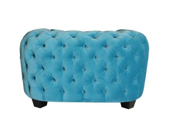 Casa Milano Velvet Tufted Armchair