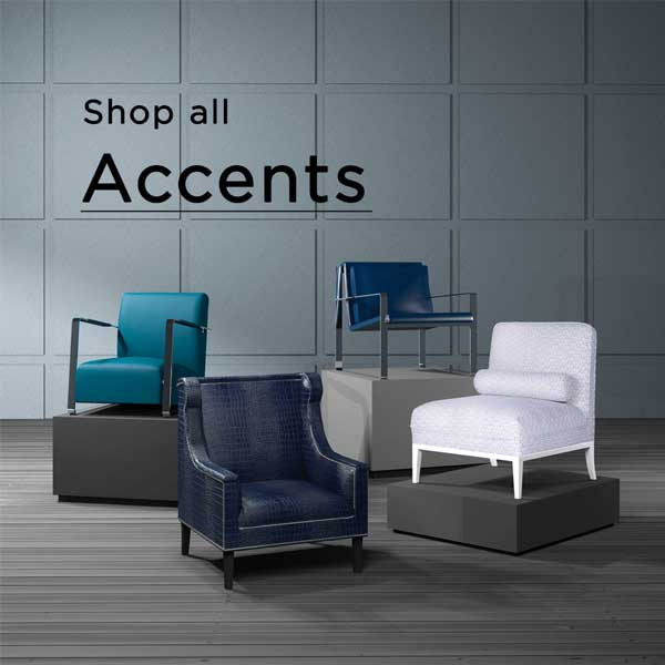 Shop all accents with colorful chairs
