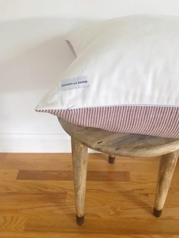 hudson and harper pillow details