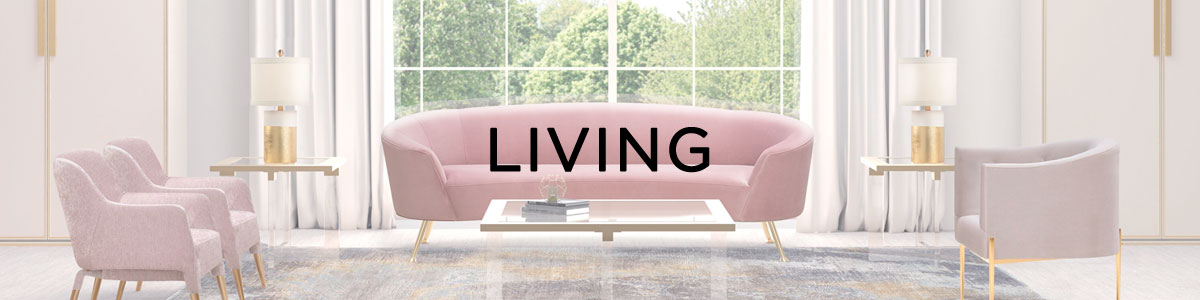 Living banner with sofa and chairs
