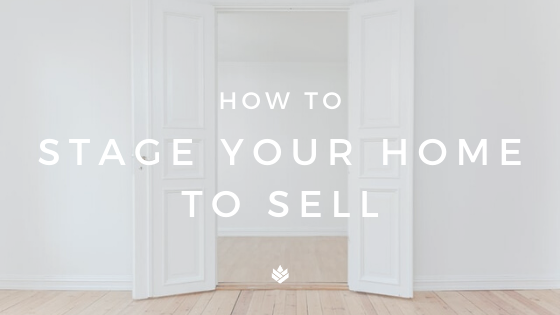 Stage Your Home To Sell Blog