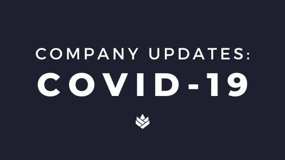 Company Updates Coronavirus
