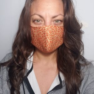 Face Mask on Female Face