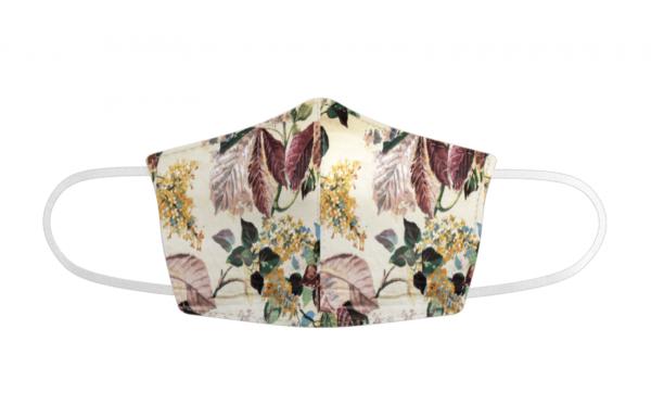 Custom Fit Face Masks Floral