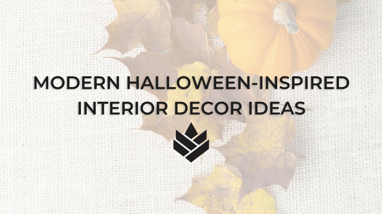 Modern, Halloween-Inspired Interior Design Ideas