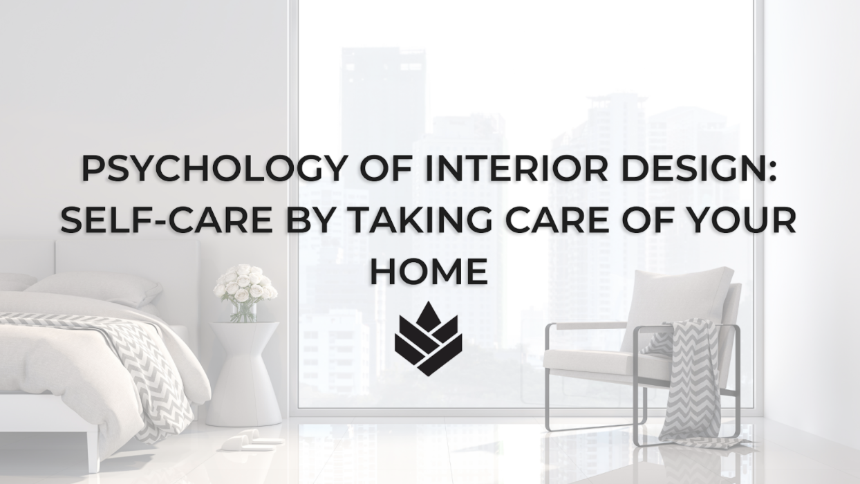 Self-Care by Taking Care of Your Home