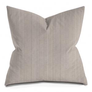 Beige Stripes Throw Pillow