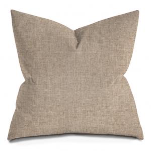 Beige Throw Pillow