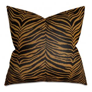 Bengal Stripe Throw Pillow