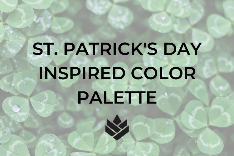 St. Patrick's Day Inspired Color Palette