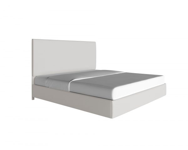 platform-beds - custom-upholstered-bed-canvas-optic-white