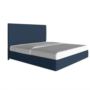 platform-beds - custom-upholstered-bed-piazza-classic-navy