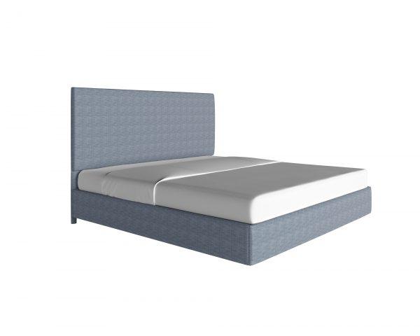 platform-beds - custom-upholstered-bed-piazza-denim
