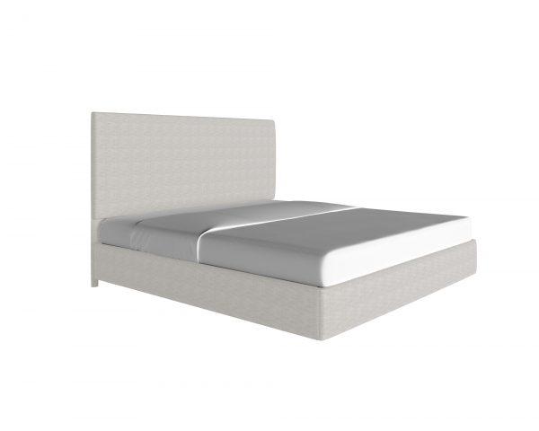 platform-beds - custom-upholstered-bed-piazza-snow